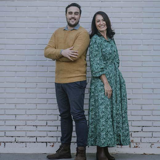 Cintia Alves e Pedro Valença