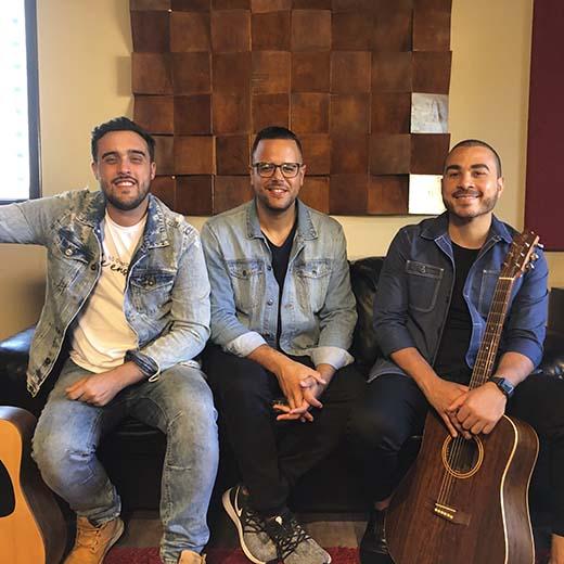 Dilson Castro, Jeferson Pilar e Pedro Valença