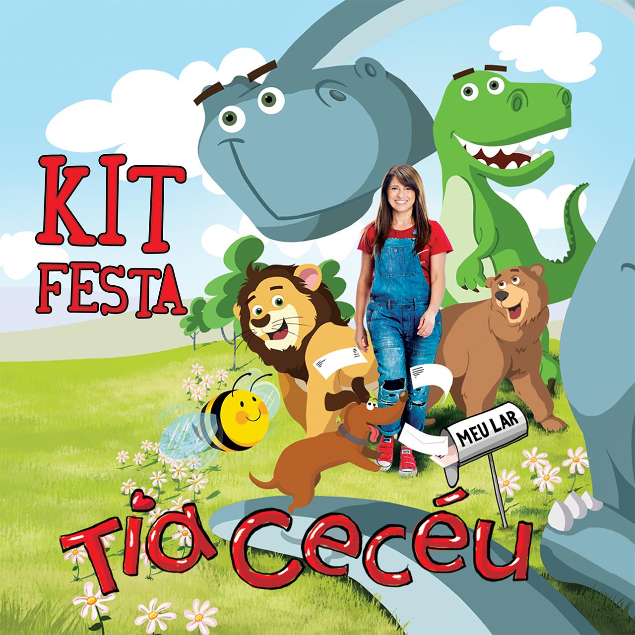 Kit  Festa  Tia Cecéu