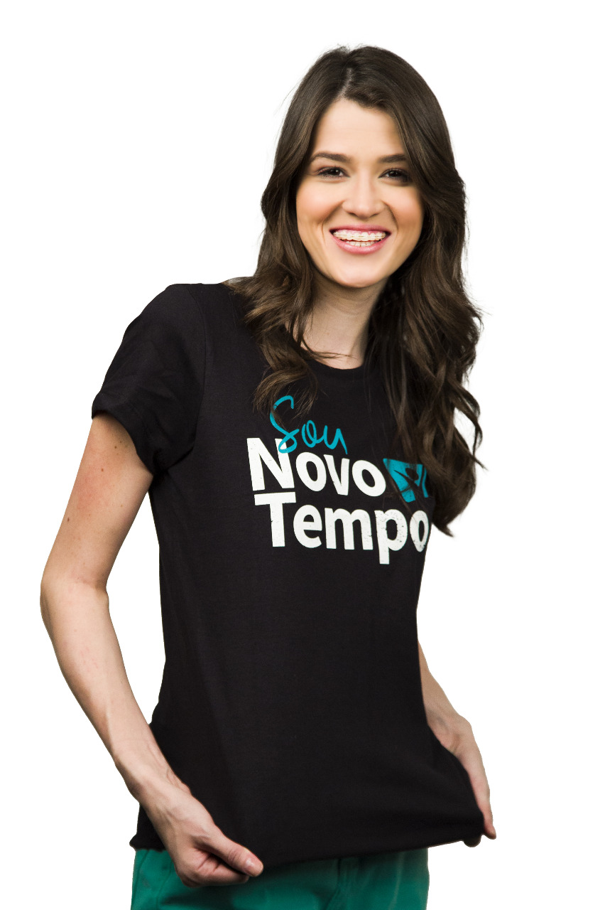 Camiseta Sou  Novo Tempo