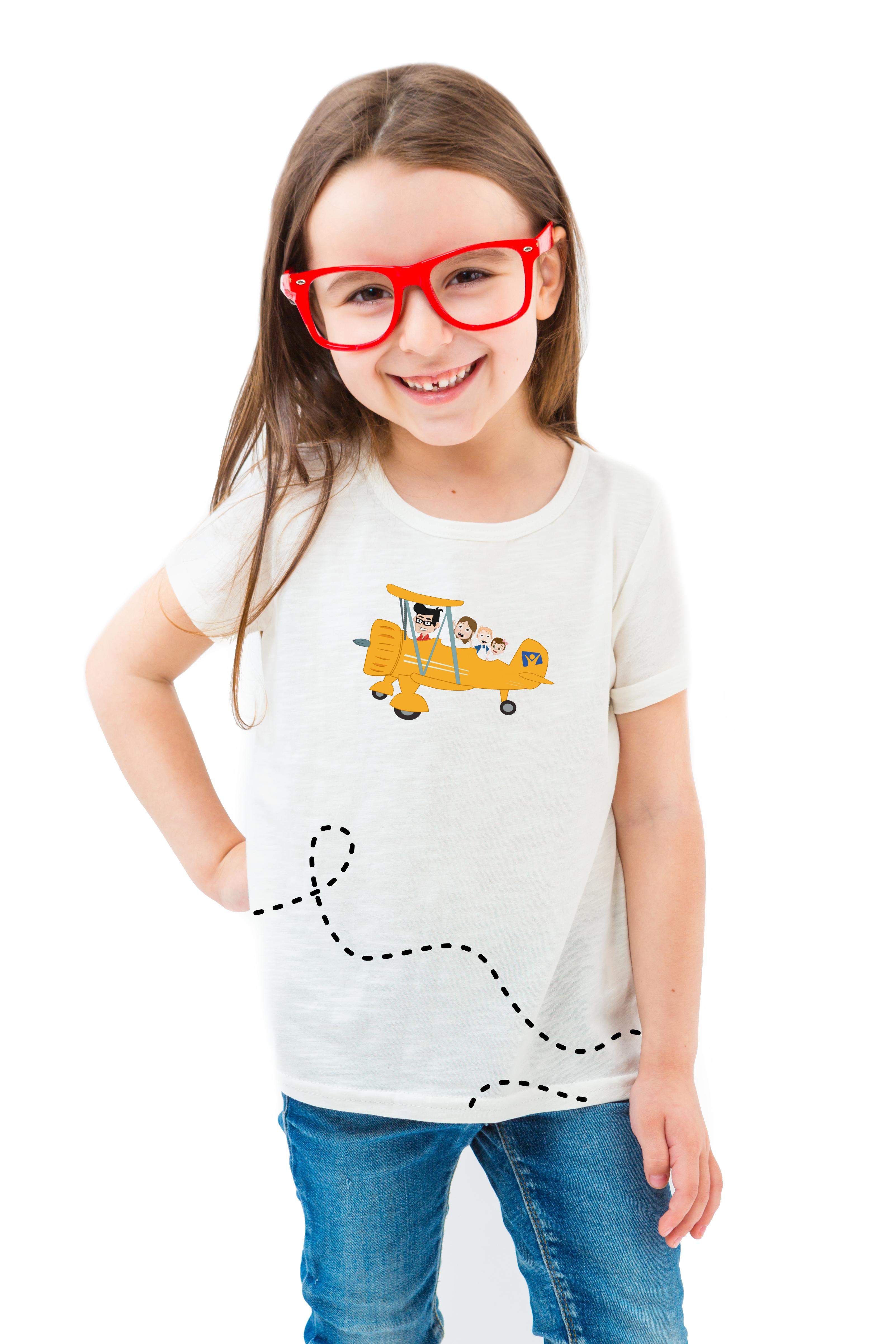 Camiseta Minha Vida é uma Viagem - Avião