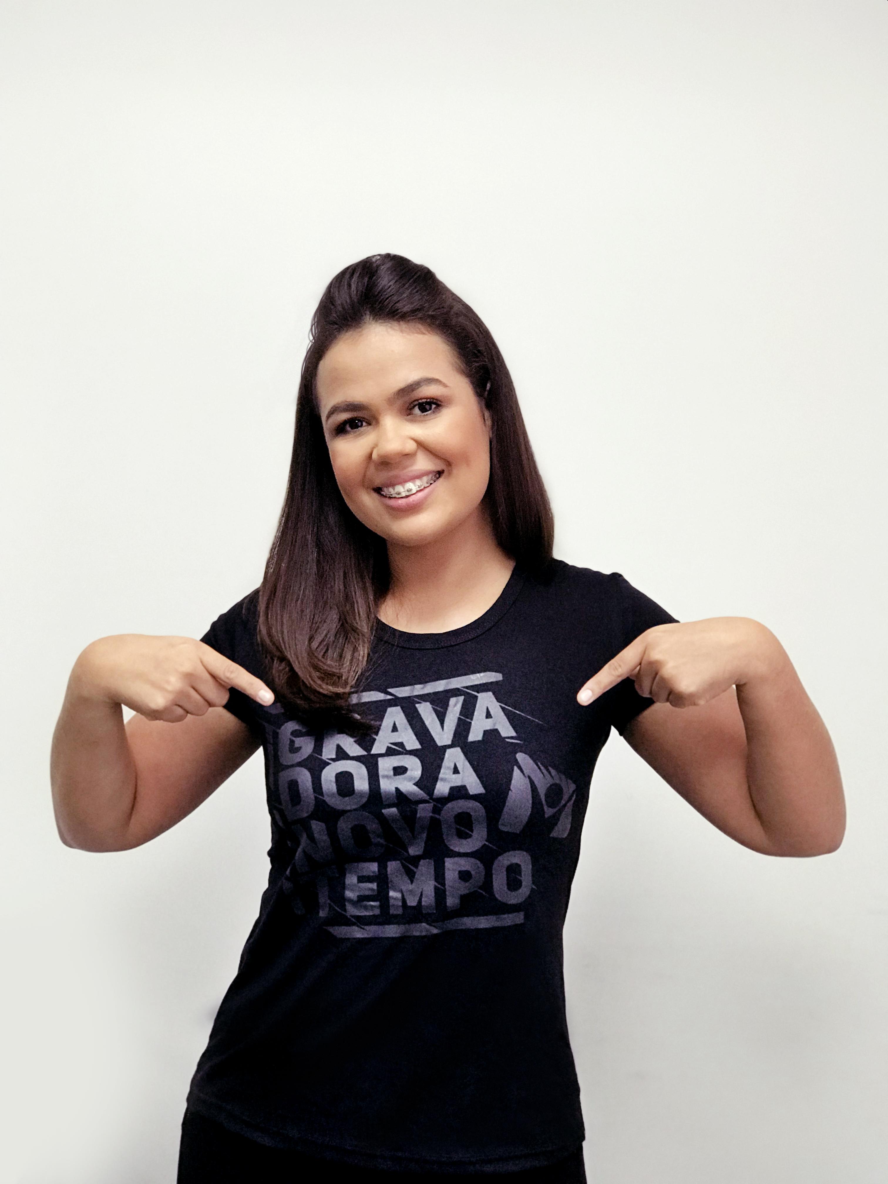 Camiseta Gravadora Preta.