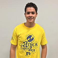 Camiseta Anjos da Esperança amarela