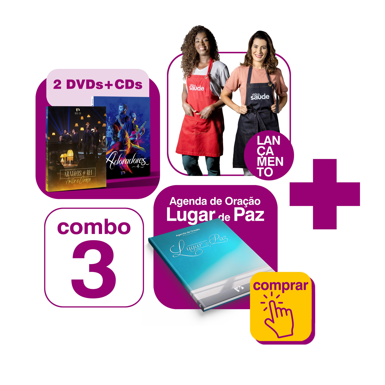 COMBO 3 MAMÃE FELIZ