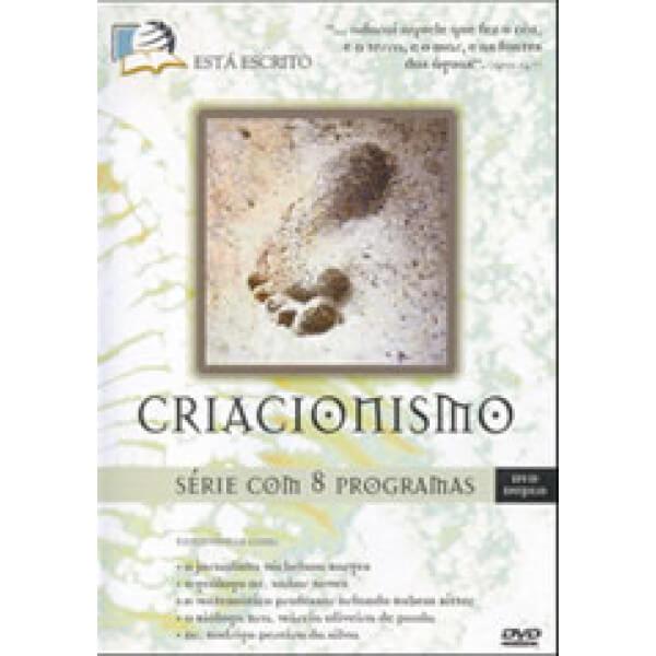 DVD DUPLO SÉRIE CRIACIONISMO